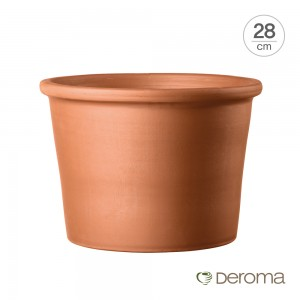 [데로마 Deroma] 테라코타 이태리토분 인테리어화분 실린드로 볼다토(28cm)