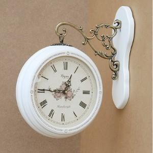 [두리데코] 큐빅 양면 시계