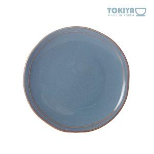 도기야 페일블루 접시 (소)