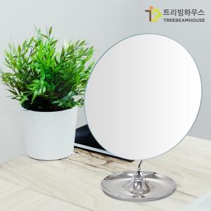수납 원형 탁상 거울