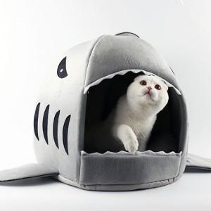 코네코 샤크 강아지집 고양이집 L