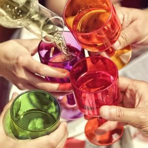 비체베르사 굿타임 물컵 와인잔 샴페인잔