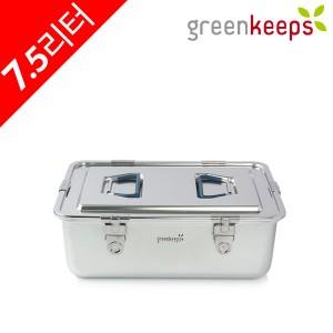 그린킵스 냉장고용 올스텐 밀폐용기 김치통 7.5리터