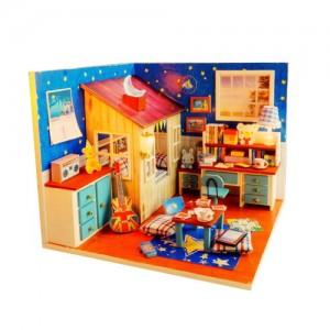 [adico] DIY 미니어처 하우스 - 달빛 오두막