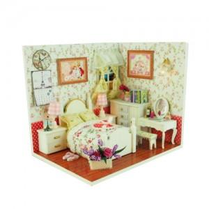 [adico] DIY 미니어처 하우스 - 모모의 침실