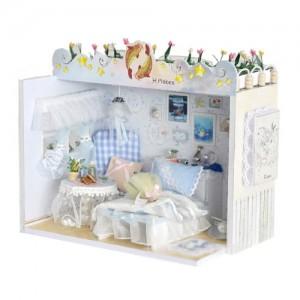 [adico] DIY 미니어처 하우스 - 화이트침실