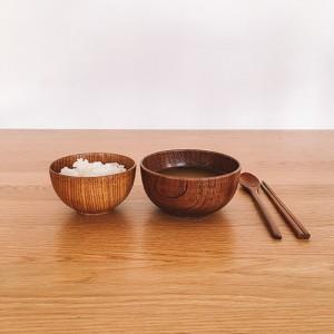 나무 보울 wood bowl