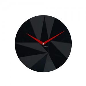 [포커시스][Momenti] 모멘티 다이아몬드 입체 무소음 벽시계 / MMT-104-BLK