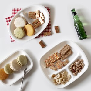[플러스텐] 일본 나카야 나눔접시/간식접시
