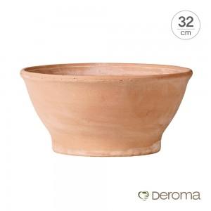 [데로마 Deroma] 테라코타 이태리토분 인테리어화분 쵸톨라 리스시아(32cm)