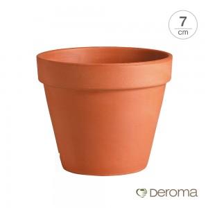[데로마 Deroma] 테라코타 이태리토분 인테리어화분 미니화분 바소(7cm)