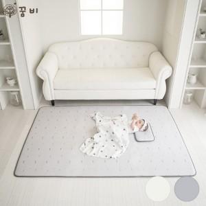 [꿈비] 3D 매쉬 아기쿨매트-논슬립 실리콘 코팅 200x140cm