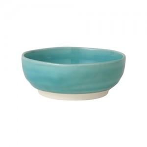 [francfranc] 세토 도자기  청색 유리 유약 공기 블루 프랑프랑 1101090307006