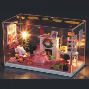 [adico] DIY 미니이처 하우스 - 스위트 크리스마스