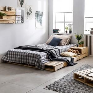 접이식 파렛트 1500X2000 원목 접이식깔판 침상 침대프레임