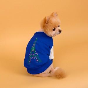 [DASOM] 파리 에펠탑 맨투맨 강아지옷