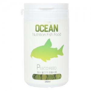 오션 청소물고기 전용 사료 250ml