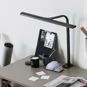 [한샘몰X프리즘] 샘스틸윙 책상부착형 LED 스탠드(2종/택1)