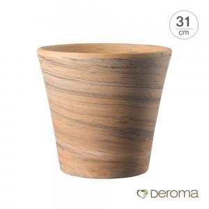[데로마 Deroma] 테라코타 이태리토분 인테리어화분 바소 코노 듀오(31cm)