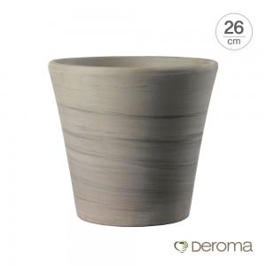 [데로마 Deroma] 테라코타 이태리토분 인테리어화분 바소 코노 듀오(26cm)