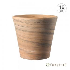 [데로마 Deroma] 테라코타 이태리토분 인테리어화분 바소 코노 듀오(16cm)