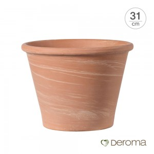 [데로마 Deroma] 테라코타 이태리토분 인테리어화분 바숨 듀오(31cm)