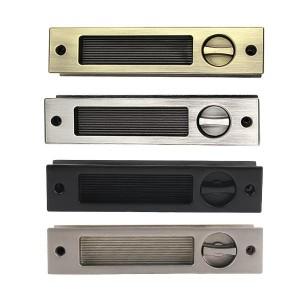 매입손잡이/DSL170(KEY타입)/슬라이딩도어락/침실/색상선택