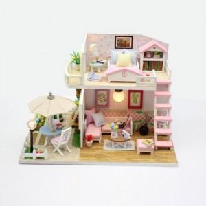 [adico] DIY 미니어처 하우스 - 핑크로프트