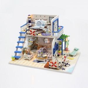 [adico] DIY 미니어처 하우스 - 블루코스트