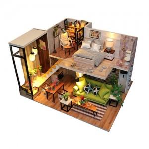 [adico] DIY 미니어처 풀하우스 - 모던 하우스
