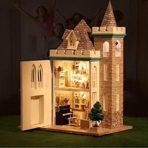 [adico] DIY 미니어처 풀하우스 - 캐슬