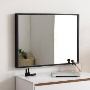 허니 600X800 화장대 탁상 거울 블랙