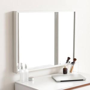 허니 600X800 화장대 탁상 거울 화이트