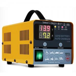 [싸파(SAPA)]스마트 연축전지 충전기 CA20 이오전자/밧데리/충전기/스마트밧데리/연축전지/배터리충전용
