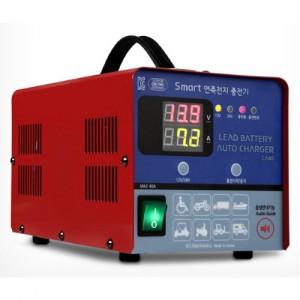 [싸파(SAPA)]스마트 연축전지 충전기 CA40 이오전자/밧데리/충전기/스마트밧데리/연축전지/배터리충전용