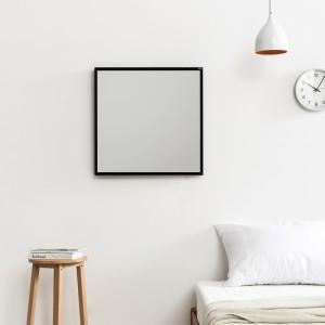 허니 600x600 벽거울 블랙