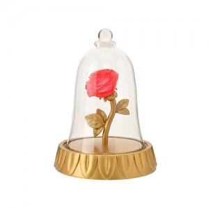 디즈니 미녀와야수 한정 LED 크리스탈 장미