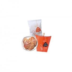 오징어,문어를 그대로 튀긴 센베 2종류
