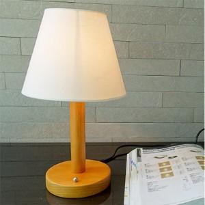 한빛조명 리사 원목 단 스탠드