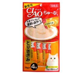 [이나바] 챠오 츄르 파우치 (닭가슴살) SC-73 14gX4 고양이 간식