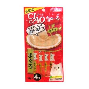 [이나바] 챠오 츄르 파우치 (참치) SC-71 14gX4 고양이 간식