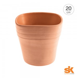 [S.K Since 1893] 독일 명품 세라믹 인테리어화분 팔마 테라 팟(20cm)