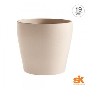 [S.K Since 1893] 독일 명품 세라믹 인테리어화분 메시나 스톤 팟(19cm)