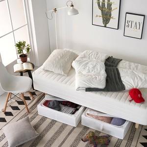 하임 투인원(2in1) 본넬스프링 일체형 슈퍼싱글(SS)침대+커버