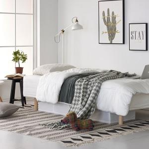 하임 투인원(2in1) 독립스프링 일체형 싱글(S)침대+커버