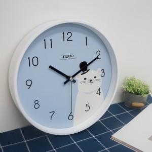[시우아트]프렌즈무소음벽시계(5COLOR)