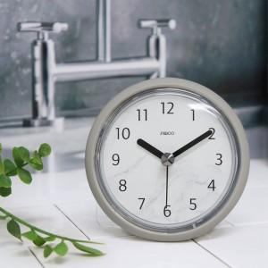 [시우아트]마블패턴욕실방수흡착시계