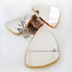 베타 543 엣지라운드 인테리어 벽거울 (3가지 사이즈)