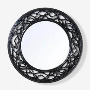 P0030 블랙 원형 벽거울
