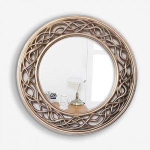 P0030 샴페인골드 원형 벽거울